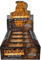 Grenade Carb Killa Bars - Eiwitreep - 1 box (12 eiwitrepen) - Fudge Brownie