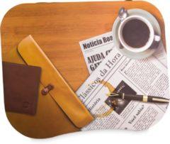 Bruine Uatt - Laptop Blad Classic - Notebookstandaard