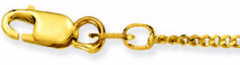 Glow Gouden Ketting Gourmet 42 cm 1.4 mm 201.0342.27