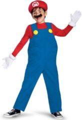 """Zwarte Mario & Luigi™ """"Luxe Mario™ kostuum voor kinderen - Verkleedkleding - 152/158"""""""