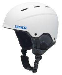 Witte Sinner Typhoon Unisex Skihelm - Matte White - S/56 cm