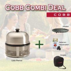 Roestvrijstalen Cobb Premier Combi Deal - Grillplaat