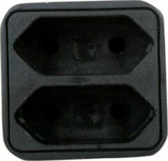 HQ - Stopcontact Splitter - Zwart