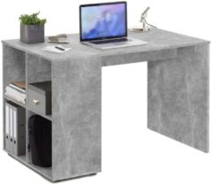 FD Furniture Computer Bureau Gent 117 cm breed - grijs beton
