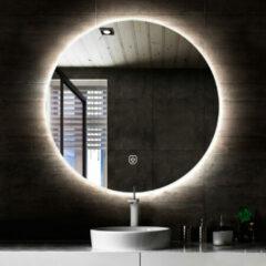 Saniclear Circle ronde spiegel met LED verlichting 120cm incl. spiegelverwarming
