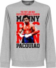 Grijze Retake Manny Pacquiao Legend Sweater - L