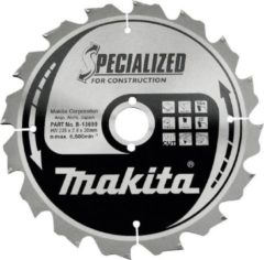 Makita Accessoires Cirkelzaagblad bouw 190x30x3 12T 20G