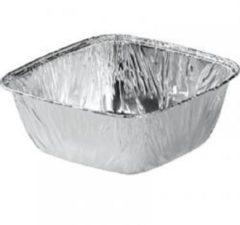 Zilveren Nevacups 100 stuks - Aluminium wegwerp bak - 295cc