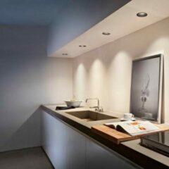 Flos Architectural Kap Easyø80 Wall-Washer PAR 16 AN 03.4221.BU Blauw