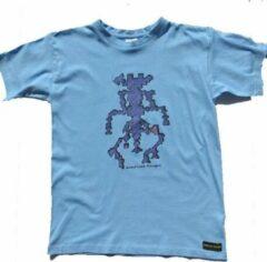 B & C Anha'Lore Designs - Alien - Kinder t-shirt - Lichtblauw - 12/14j (152-164)