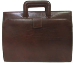"Claudio Ferrici Legacy Briefcase 15.6"" brown"