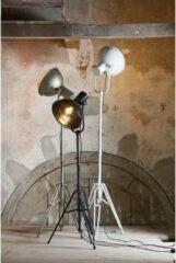 BePureHome Spotlight vintage vloerlamp wit metaal Wit