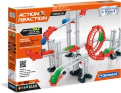CLEMENTONI Action And Reaction Kogelbaan Starter Set // A1 B3 C4 E1 (4156939)