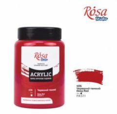 Donkerrode Rosa Studio Acrylverf 400 ml 406 Deep Red