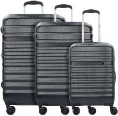 Corium 4-Rollen Koffer Set 3tlg. Bugatti schwarz