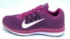Donkerrode Wmns Nike Zoom Winflo 5 - True Berry/White Bordeaux - Maat 36