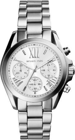 Afbeelding van Michael Kors MK6174 - Horloge - Staal - Zilverkleurig - Ø 36 mm