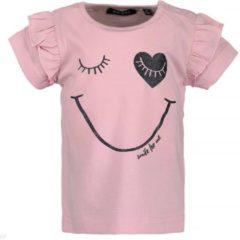 Roze Blue Seven Meisjes t-shirt - rose - Maat 68