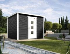 WEKA | Designhuis 'wekaLine' 413 Gr.2 | 300x300 cm | Antraciet