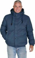 BJØRNSON Winterjas Warm Gewatteerd Heren Donkerblauw - Maat S - MARCO