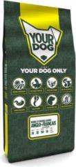 12 kg Yourdog grand anglo-franÇais blanc et orange volwassen hondenvoer