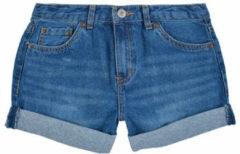 Levi's Kids Girlfriend shorty loose fit jeans short eviema3