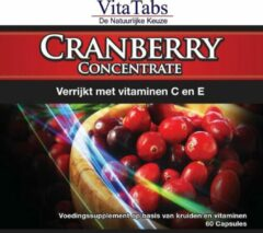 Vitalabs VitaTabs Cranberry Concentrate - 60 capsules - Voedingssupplementen