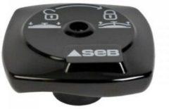 Zwarte Tefal vergrendel knop van snelkookpan origineel SEB Tefal Calor 2530 v