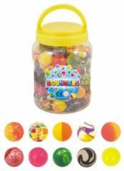 Decopatent 72 STuks - Stuiterballen - Mix Stuiterballen - Ø3.5 Cm - In Pot - Uitdeelcadeautjes - Traktatie voor kinderen - Jongens - Meisjes