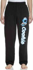 NAPO Sesame Street Jogging broek -M- Cookie Monster Zwart