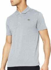 Lacoste Sport polo Slim Fit - grijs melange (ultra lightweight knit) - Maat: XL