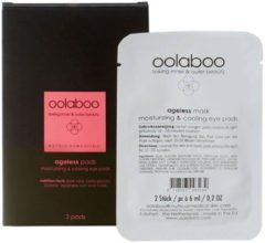 Oolaboo Skin Care Ageless Moisturizing & Cooling Eye Pads Patchs Lijntjes/kringen/gezwollen Oogleden 3stuks