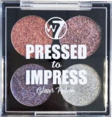 Paarse W7 cosmetics W7 Pressed to Impress - All The Rage