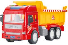 Luna kiepwagen junior 28 cm rood/oranje