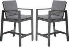 Express Barstoelen Malibu charcoal 2 stuks