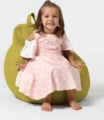 Xoft Living Pear Kids Linnen Zitzak - Geel