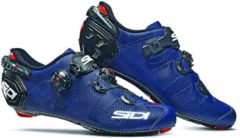 Marineblauwe Sidi Wire 2 Carbon Matt fietsschoenen - Fietsschoenen