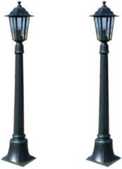 VidaXL Tuinlampen 2 st Preston 105 cm