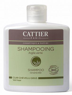Afbeelding van Cattier Shampoo Vet Haar Groene Klei (250ml)