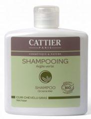 Cattier Shampoo Vet Haar Groene Klei (250ml)