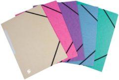 5star 5 Star elastomap 3 kleppen geassorteerde pastelkleuren pak van 10