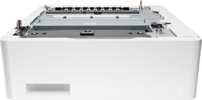 Afbeelding van Witte HP LaserJet papierinvoerlade 550 vel - Printeraccessoire
