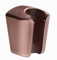 Salenzi Giro opsteek handdouche houder geborsteld koper