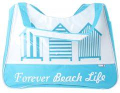 Probeach Pro Beach Strandtas Fashionbag Polyester 53 Cm Lichtblauw