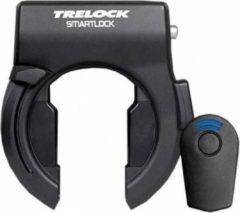 Zwarte Trelock SL460 Smartlock - Ringslot - Inclusief E-key - Ontgrendelen Met Elektronische Sleutel