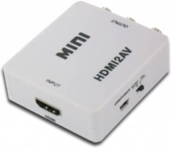 Witte Cablexpert HDMI Naar Tulp AV Converter - HDMI Naar RCA Composiet Audio Video Kabel Adapter