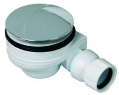 Sanit douchebakafvoer compleet voor douchebak met gat 90mm chroom 0510049