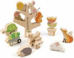 Tender Toys Stapelboom Met Dieren Hout Junior 16-delig