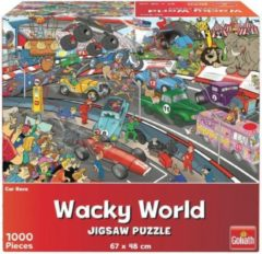 Boeketbinderij.be Goliath Wacky World Puzzel Car Race 1000 Stukjes