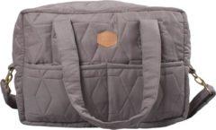Grijze Filibabba Verzorgingstas - Soft Quilt Dark Grey - One Size